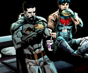 batman, bruce wayne, and DC image
