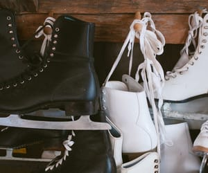 aesthetic, ice skates, and photography image