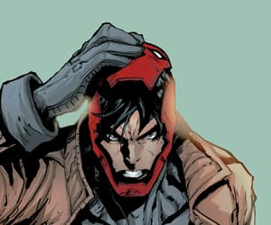 DC, red hood, and wallpaper image