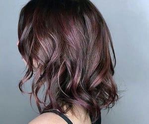 beauty, brown hair, and balayage image