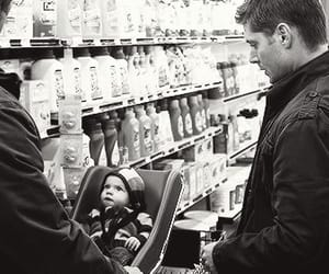 baby, dean winchester, and funny image
