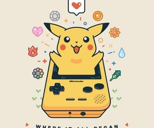 pikachu, pokemon, and games image