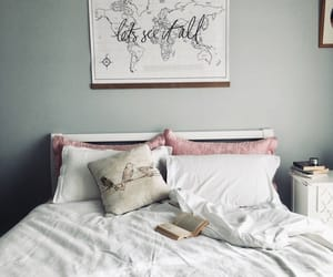 beautiful, bedroom, and décoration image