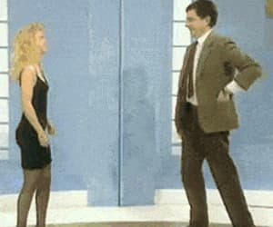 blind date, retro, and mr bean image