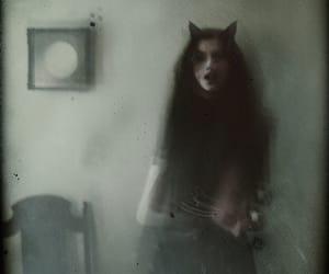 dark, Darkness, and girl image