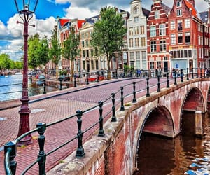 amsterdam, holland, and beautiful places image