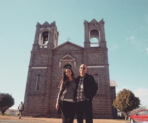 felicidade, igreja, and amor image