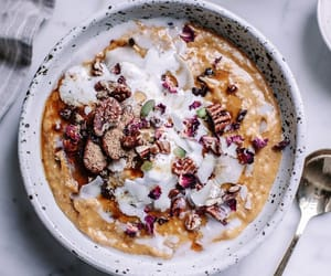 breakfast, oats, and delicious image