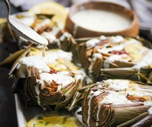 artichoke, delicious, and food photography image