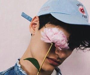 bad boy, boy, and flower image