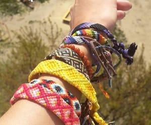 bracelets, fashion, and hippie image
