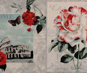 header, red, and Collage image