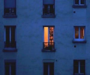 light, blue, and night image