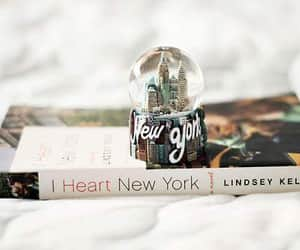 book, new york, and love image