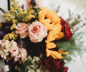 flowers, wedding, and wildflowers image