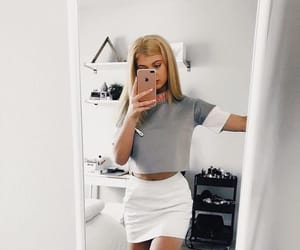 fashion, loren gray, and outfit image
