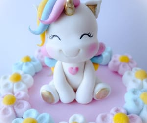 cake, decorating, and food image
