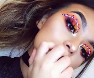 makeup, eyes, and tumblr image
