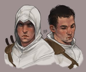 assassin's creed and altair ibn la'ahad image