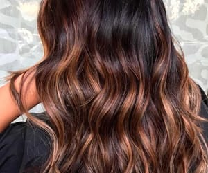 hair, hairstyle, and brown hair image