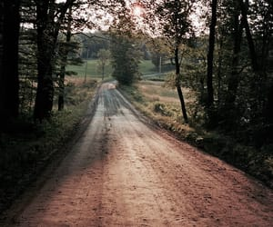 country, road, and dirt image