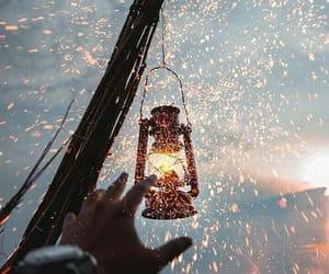 dreams, lantern, and lights image