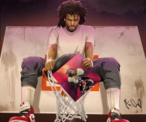 hiphop, art, and jermaine cole image