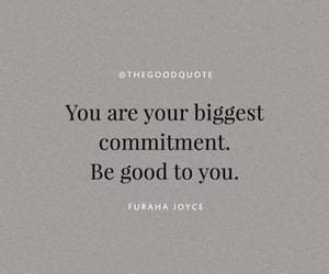 quotes, self love, and commitment image