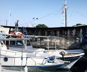 boats, port, and rhodes image