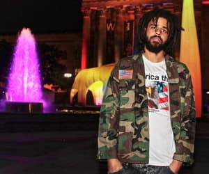 art, hiphop, and j cole image