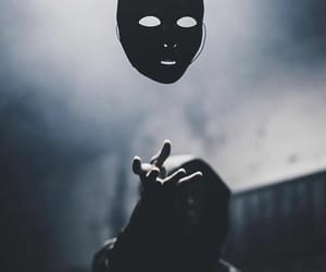 dark, light, and fantasy image