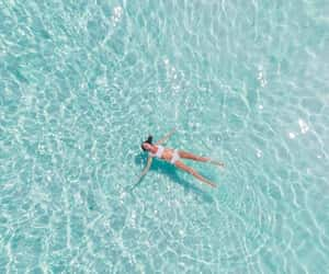 aesthetic, paradise, and water image
