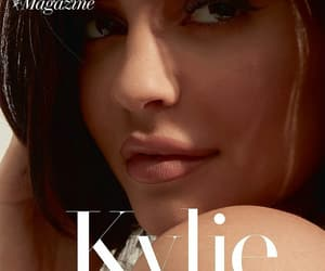 kylie jenner and magazine image