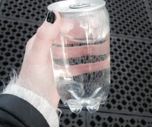 bottle, glass, and nails image