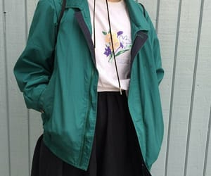 green, outfit, and cute image