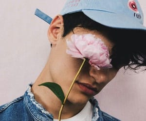 artistic, boys, and rose image