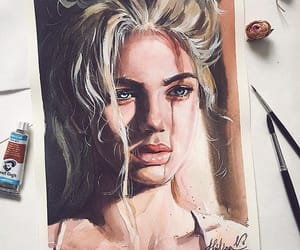 amazing, portrait, and blonde hair image