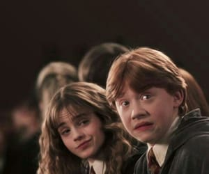 harry potter, hermione granger, and ron weasley image