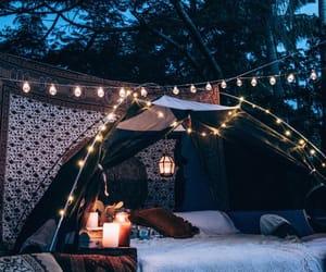 light, night, and nature image