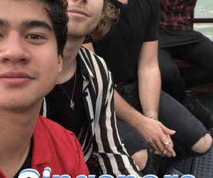 5sos, luke hemmings, and michael clifford image