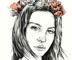 drawing, fav, and lana image