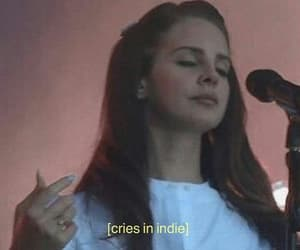lana del rey, cry, and indie image