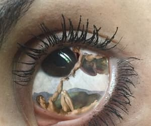 art, she, and eye image
