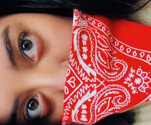 brown, eyes, and red image