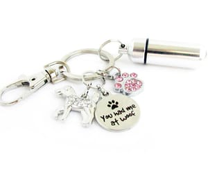 car accessories, pet keychain, and pet loss gift image