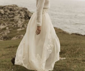 dress and bridal image