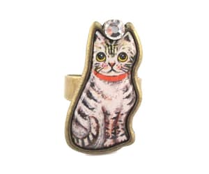 earrings, jewelry, and animalrings image