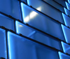 blue, wall, and pattern image