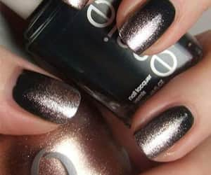 dark colors, creations, and nails image
