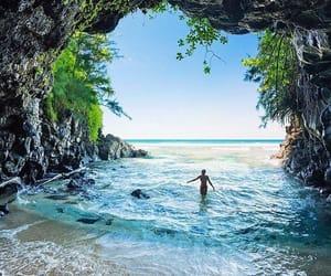 nature, beach, and travel image